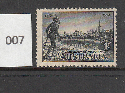 1934 1- Centenary of Victoria Perf. 11.5 Mint Lightly Hinged'