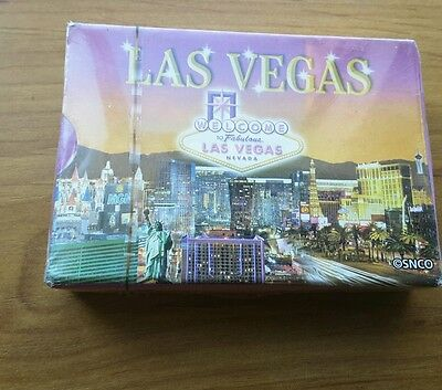Playing cards from Las Vegas