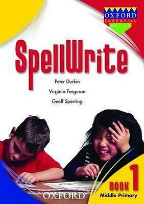 NEW SpellWrite Book 1 By Peter Durkin Paperback Free Shipping