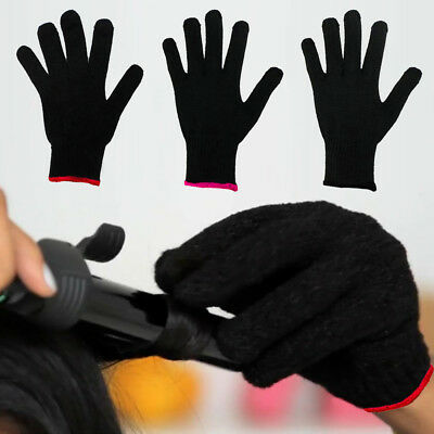1 Pair Hair Styling Heat Resistant Glove Flat Straightener Curling Irons Tools A