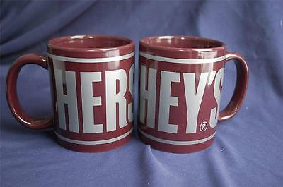 Hershey's Chocolate Cocoa 2 Coffee Mugs Cups by Galarie S'mores