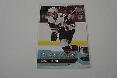 2016-17 Upper Deck Series 2 Young Guns Dylan Strome  #498