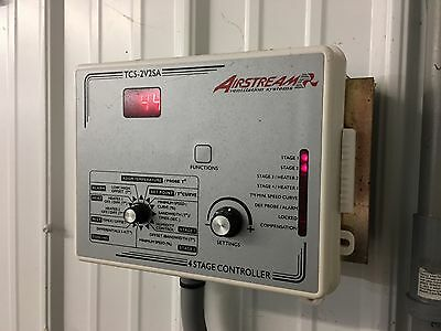 AIRSTREAM  VENTILATION  SYSTEMS - TC5-2V2SA  4 stage controller (works great)