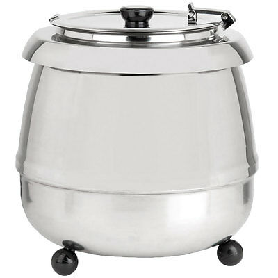 Avantco Stainless Steel Commercial Electric Soup Kettle Warmer Food Restaurant