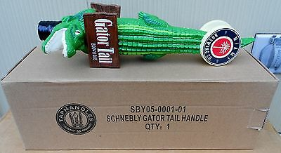 Miami Brewing Co Gator Tail Brown Ale Alligator  Figural Beer Tap Handle New