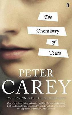 NEW The Chemistry of Tears By Peter Carey Paperback Free Shipping