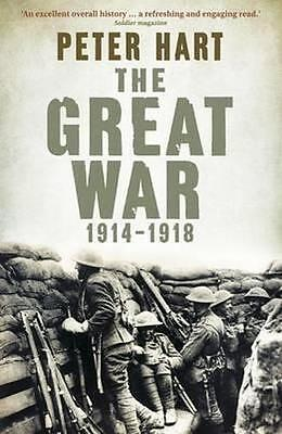 NEW The Great War By Peter Hart Paperback Free Shipping