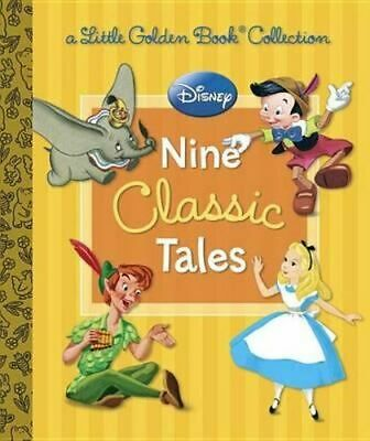 NEW Little Golden Books Collections Nine Classic Disney Tales By Various