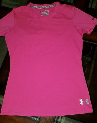 Under Armour Youth Charged Cotton T-Shirt Fitted UPF30+