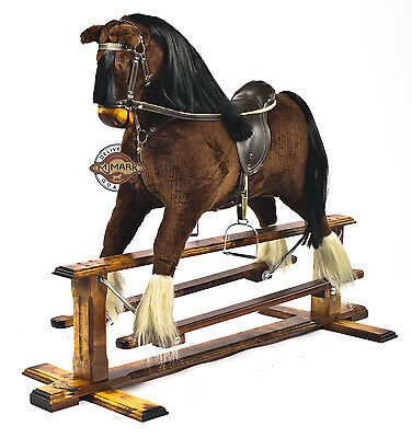 Beautifully handmade rocking horse MARS IV  by MJMARK BRAND NEW MJMARK !!!