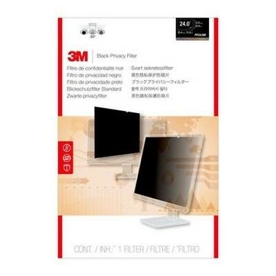 """3M Privacy Filter PF24.0W for Widescreen Desktop LCD Monitor 24.0""""519 x 325 mm"""