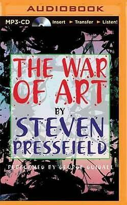 NEW The War of Art By Steven Pressfield CD in MP3 Format Free Shipping