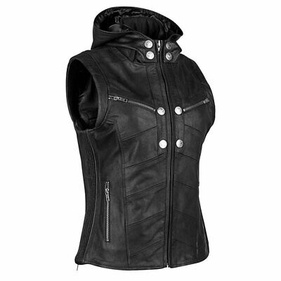 Speed & Strength Womens Hell's Belles Leather Motorcycle Vest - Size & Color