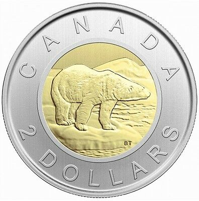 2017 $2 Toonie Specimen Canada - From Mint Set