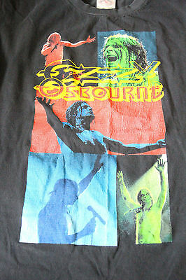 Vintage Ozzy Osbourne T Shirt Mens Large Made in USA 100% Cotton RARE