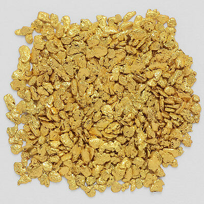 0.9421 Gram Alaska Natural Gold Nuggets / Flakes -(#03506)- Hand-Picked Quality