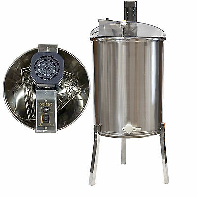 Electric 3 Frame Stainless Steel Honey Extractor Beekeeping Equipment  -110V
