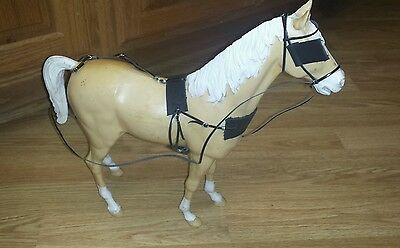Marx Johnny West Breyer horse leather  custom harness