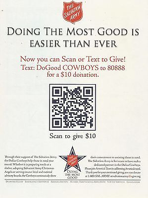 2012 The Salvation Army DoGood Cowboys Vintage Color Photo Print Ad