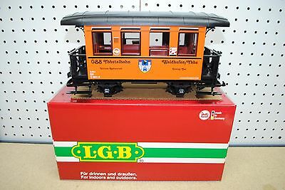 LGB 31130 OBB Ybbstal Railway Dining Car *G-Scale* NEW