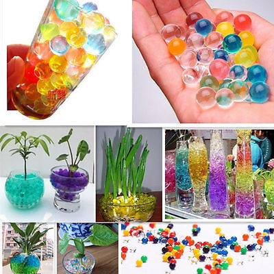 5000 pcs Water Balls Crystal Pearls Jelly Gel Beads for Orbeez Toys Refill Decor