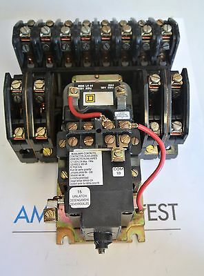 Square D 8903 LX01200 12 Pole  Lighting Contactor 120V Coil - TESTED