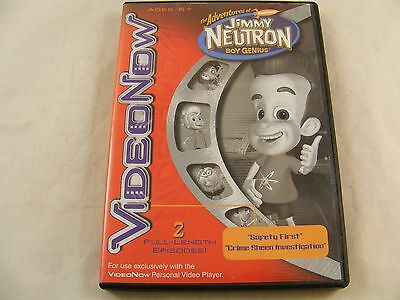 The Adventures of Jimmy Neutron Boy Genius Video Now PVD 2 Full-Length Episodes