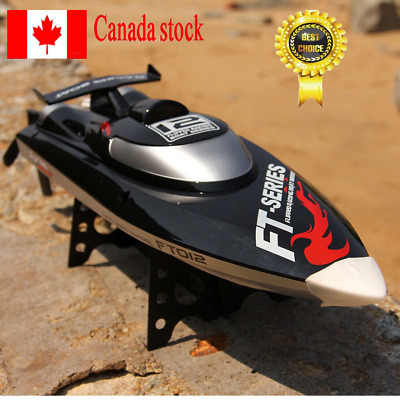 Feilun FT012 4CH 2.4G Brushless Water Cooling High Speed Racing RC Boat CANADA