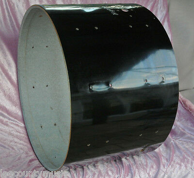 """EARLY 1970's VINTAGE Rogers 22"""" BLACK BASS DRUM SHELL for YOUR DRUM SET! #Z56"""