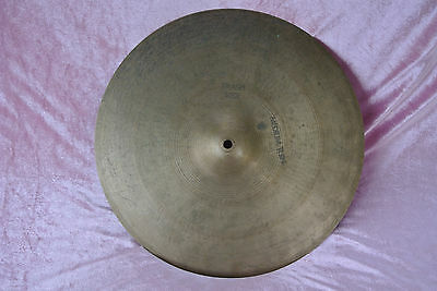"1960's Avedis ZILDJIAN 16"" EXTRA LIGHT CRASH RIDE CYMBAL ~ 1044 grams! #V132"