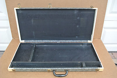 VINTAGE SUPRO HARD SHELL CASE for YOUR DOUBLE NECK STEEL VALCO NATIONAL #V714