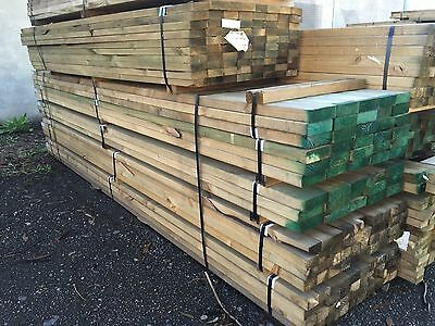 Pack of 140 x 45 Treated Pine Merch Timber (Lot: 601)