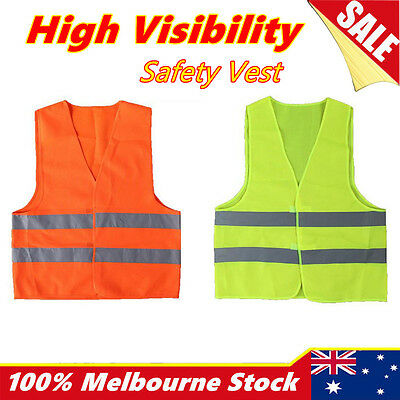 Safety Vest hi vis workwear Reflective Tape Work Jacket High Visibility Yellow