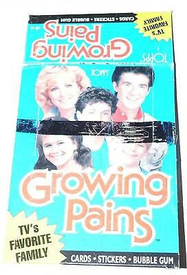 Growing Pains Empty Card Box.