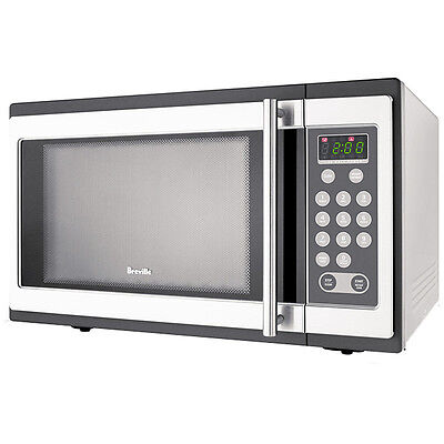 Breville Microwave Stainless Steel 34 Litres 1100 Watts BMO300 *Great Condition*