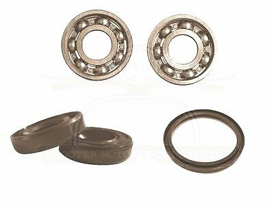 Lambretta Gp Sx Tv Li Wheel Bearing & Seal Set Front Manny Models @aud