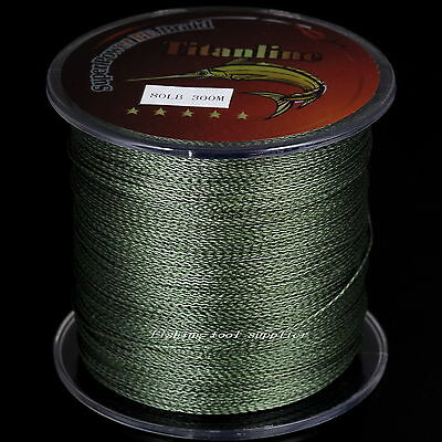 Moss Green Titanline Imported Top Graded Dyneema Spectra Braided Fishing Line