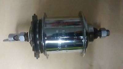 Sturmey Archer Aw Three Speed Hub 28H 28 Holes Vintage Muscle Bike Bicycle Nos