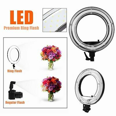 """New 18"""" Dimmable Photo Video Continuous Ring Light Kit Incl Carry Bag USA STOCK"""