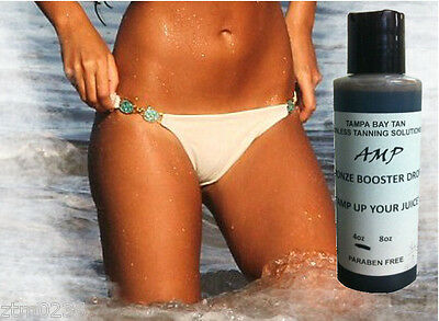Airbrush Tanning Intensity 50% DHA Booster Drops AMP 4 oz  from Tampa Bay Tan