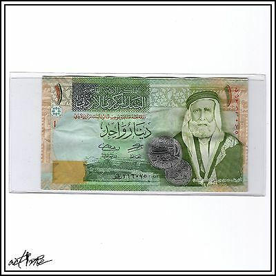 Jordanian One Dinar (1 JOD). World Currency Middle Eastern Banknote Jordan Money