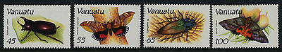 Vanuatu 457-60 MNH Insects, Butterfly