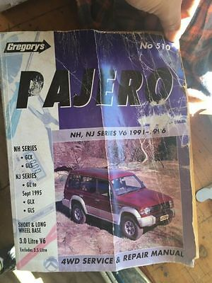 PAJERO - 91-96 4WD Service & Repair Manual