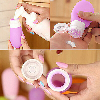 Empty Travel Packing Press Bottle For Lotion Shampoo Bath Container Selling