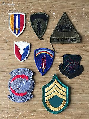 US Army patches
