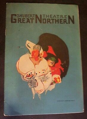1925 Shubert Theater- Great Northern -The Student Prince in Heidelberg -Playbill