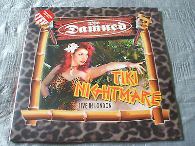 The Damned Tiki Nightmare Live in London 2014 Ltd Double Red Vinyl LP SEALED/NEW