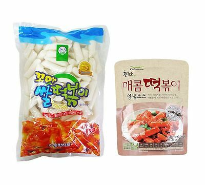 Korea Food Popular Traditional TTEOKBOKKI Spicy Sweet Sauce + Rice Cake
