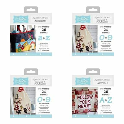 Debbie Shore Create Your Own Sewing Template Stencil Packs - FULL RANGE!