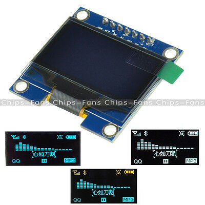 """I2C IIC SPI Serial 128X64 OLED 0.96"""" LCD Display SSD1306 for Arduino 51 STM32"""